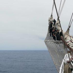 Maniobras de la marinería